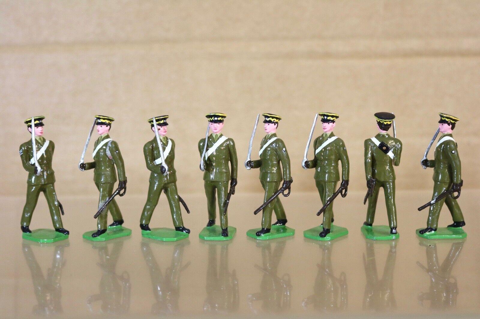 Ducal Soldaten 8 X Königlich Scots Dragoon Guards mit Sergeant Marsch Nq