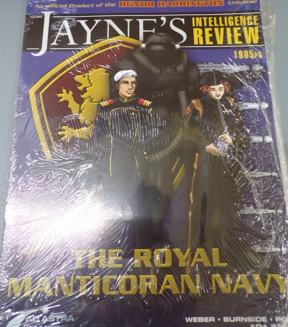 Jane's Intelligence Review The Royal manticoran Azul Marino-Honor Harrington Raro