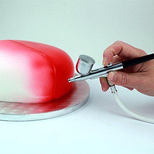 PME Aérographe Aérographe PME Air Brush & Compresseur Kit Pour Cup/gâteau glaçage décoration de pulvérisation 50b137
