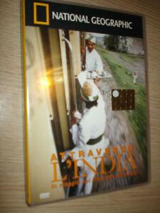 DVD-N-4-NATIONAL-GEOGRAPHIC-ATTRAVERSO-L-039-INDIA-VIAGGIO-ABOUT-TRAIN-MAHARAJA