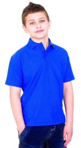 Children/'s Unisex Polo tra cui logo ricamato personalizzata gratuita