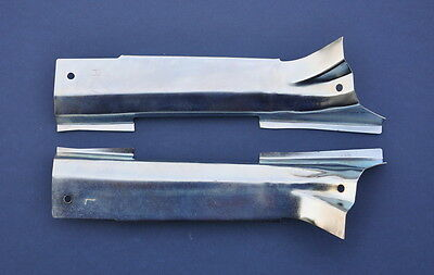 55 56 57 Chevy Station Wagon Tailgate Hinge Covers Pair *NEW* 1955 1956 1957