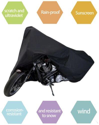 XXL Waterproof Motorcycle Outdoor Motorbike Rain Vented Bike Cover Extra Large