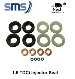 peugeot and citroen injector seal kit 1 6 hdi dv6 france ebay. Black Bedroom Furniture Sets. Home Design Ideas