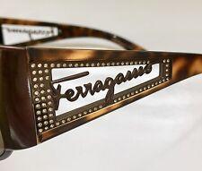 FERRAGAMO 1158B +SWAROVSKI Sunglasses Lunette Brille Occhiali da sole Gafas
