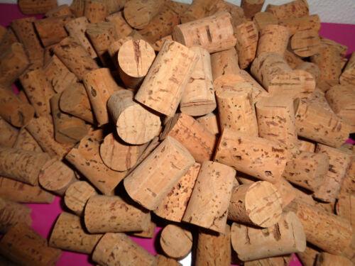 Tapón de Corcho Natural Cónico embotellado Home Brew Vino Corcho Portugal 24-22x18