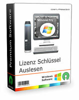 Lizenz Schlüssel Auslesen | Microsoft Windows 10 / 8.1 / 8 / 7 / Vista / Xp