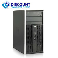 HP 6000 Pro Desktop Computer Tower PC Intel C2D 3.0GHz 4GB 160GB Windows 10