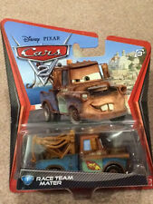 Disney PIXAR Cars2 #1 Race Team Mater Free Shipping