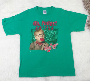 Christmas Story Shirts.Details About Oh Fudge A Christmas Story Ralphie With Bar Of Soap In Mouth T Shirt Sz Large