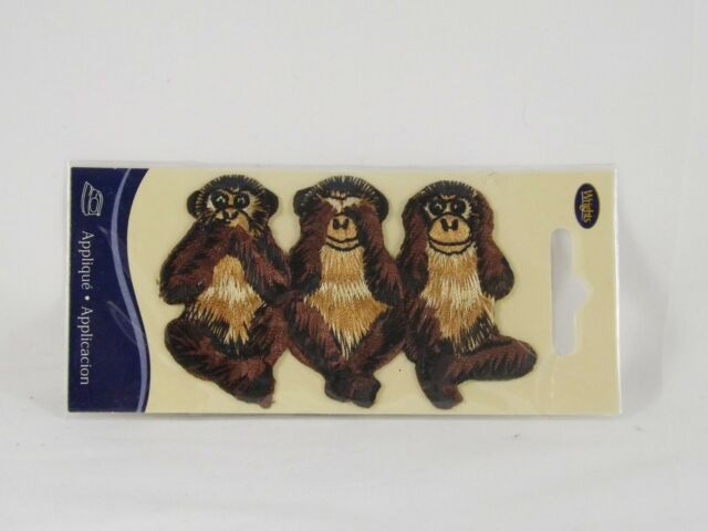 Wrights Fabric Iron-On Appliques New Animals