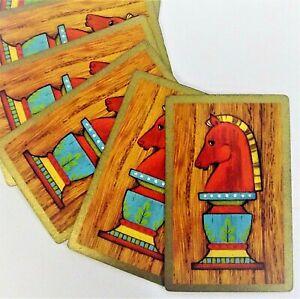 Mid-Century Trading /& Crafting Junk Journals Paper Arts Lot of 6 Vintage Single Swap Playing Cards Jokers Nautical Ships Boats Ephemera