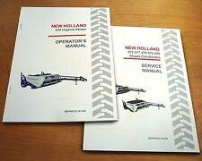 New Holland 478 Haybine Mower Conditioner Operators And Servicerepair Manual