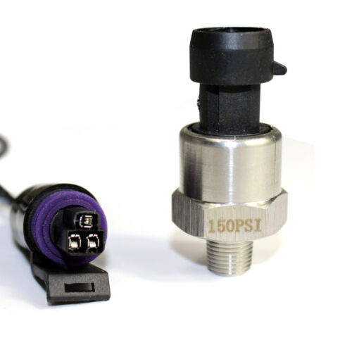 Water Air Pressure Transducer or Sender for Oil Fuel Stainless Steel Body