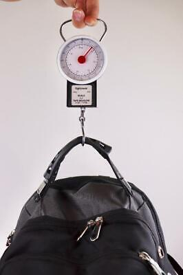 Up to 70.5 Pounds 32KG Mechanical Luggage Scale//Fishing Scale with Tape Measure