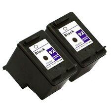 2PK HP 92 Black Ink Cartridge For Photosmart C3100 C3140 C3175 C3194 7850