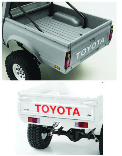 RC4WD TOYOTA Tailgate//Winshield Decals Trailfinder Mojave HiLux LC70 1:10
