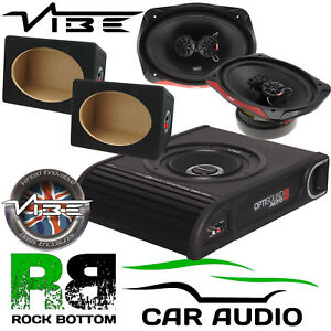 Details about Vauxhall Combo Van Vibe 900W Underseat Subwoofer & 960 Watts  6X9 & MDF Boxes