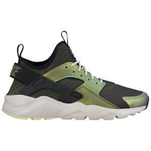 03bd369e417b Nike Air Huarache Run Ultra SE Mens 875841-302 Sequoia Citron Shoes ...