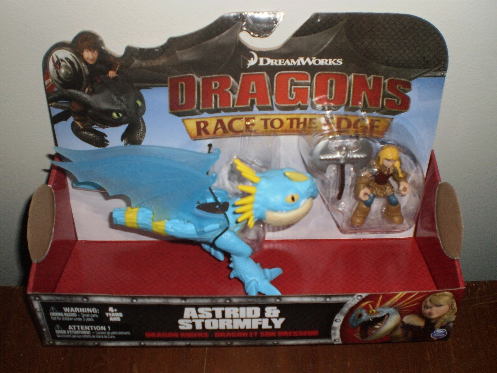 How to Train Your Dragons Astrid & Stormfly Race To The Edge Action Dragon  2016