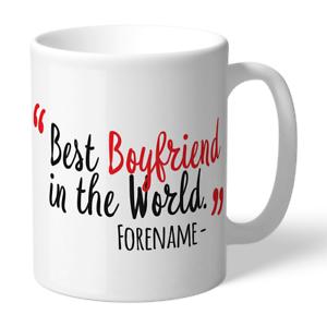 Constructif Sheffield United F.c - Personalised Ceramic Mug (best Boyfriend) Vente D'éTé SpéCiale