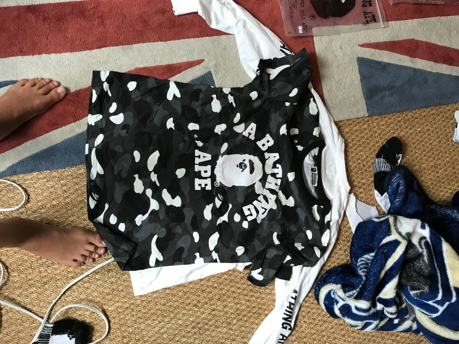 Bape t shirt brand new looks and feels great