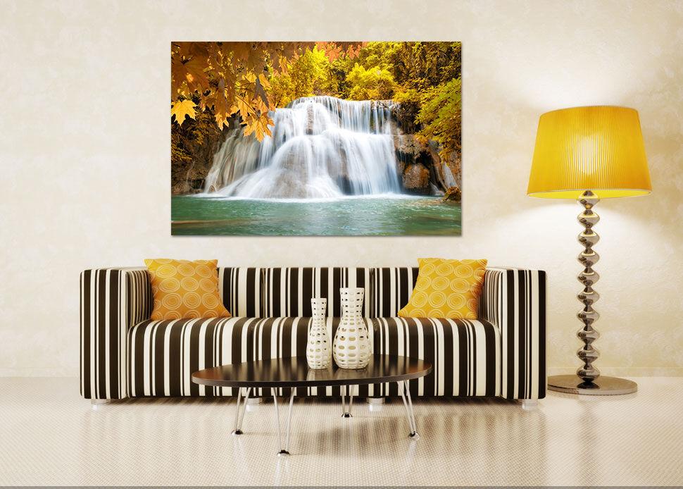3D Sehr große Wasserfall 342 Fototapeten Wandbild BildTapete Familie AJSTORE DE