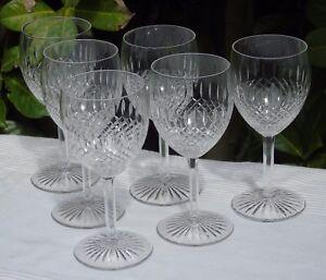 Saint-Louis-Service-de-6-verres-a-eau-en-cristal-taille-modele-Vendome