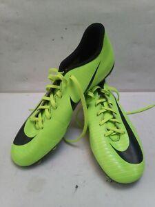 Nike-Mercurial-chaussures-de-football-Taille-9-vert-fluo