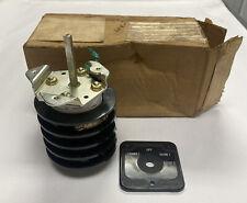 Electroswitch 74904pj Rotary Switch Nos