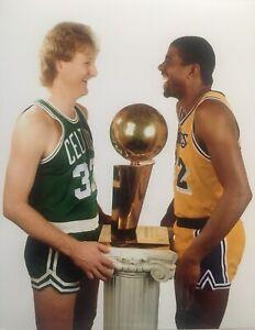 magic-johnson-larry-bird-photo-8x10-NBA-Celtics-Vs-Lakers