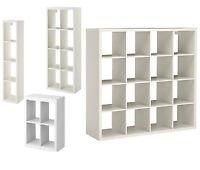 Ikea Kallax display unit Shelf Storage Bookcase or Shelving W/ Drona Box Insert