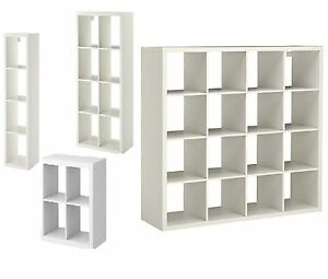 ikea kallax display unit shelf storage bookcase or shelving w drona box insert. Black Bedroom Furniture Sets. Home Design Ideas
