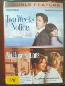 Two-Week-039-s-Notice-No-Reservations-2-DVD-Set-Region-4-BRAND-NEW-amp-SEALED