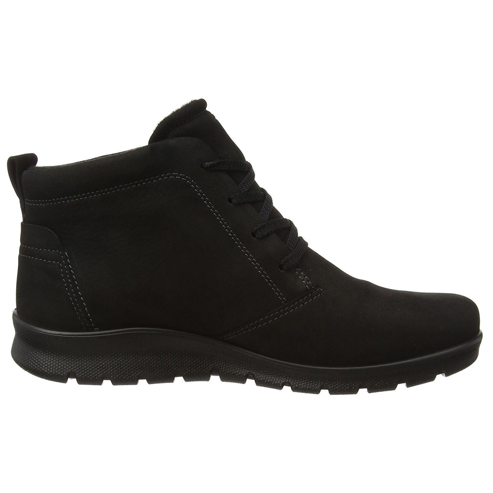 Ecco Babett Low Cut Lace Gore-Tex Negro botas para mujer
