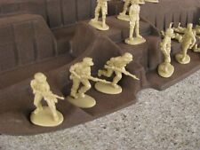 Matchbox WWII German Afrika Korps Infantry 1/32 54MM Toy Soldier