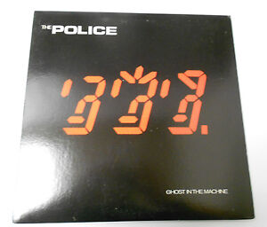 1981 The Police Ghost In The Machine Lp A Amp M Records