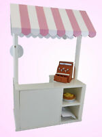 Queen's Treasures BAKERY SHOPPE Set Pastry Cart for American Girl Doll Shop
