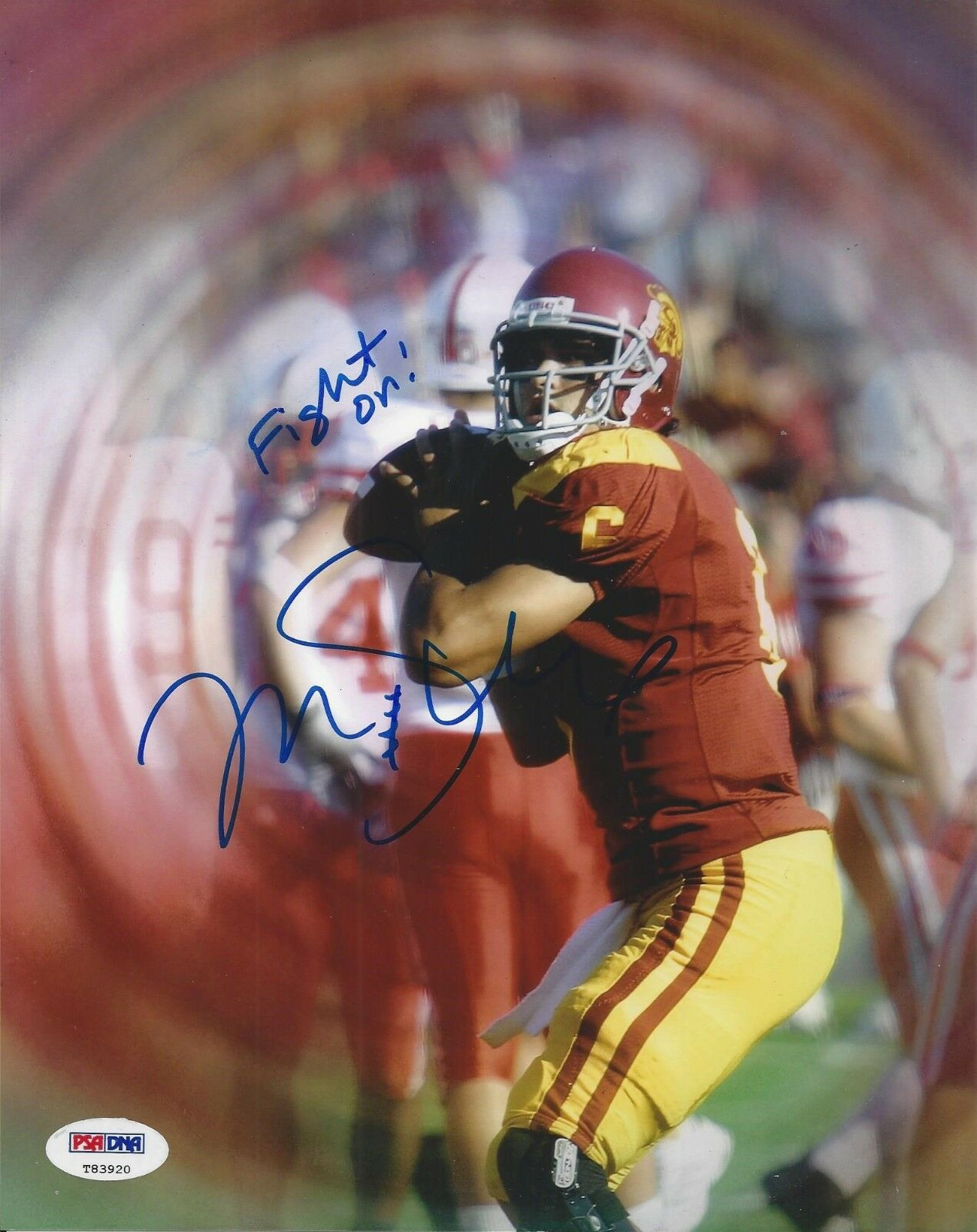 Mark Sanchez Of The USC Trojans Signed 8x10 Photo - PSA/DNA # T83920