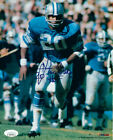 Lem Barney Signed Detroit Lions 8x10 Photo HOF 92