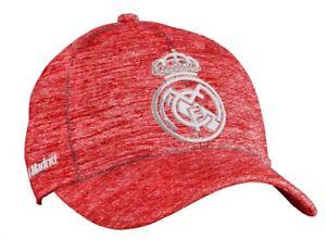 Chapeau-Real-Madrid-officiel-blancos-Original-visiere-adulte-casquette-rouge