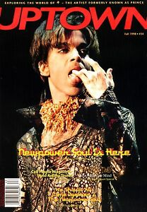 Uptown-34-The-Best-PRINCE-magazine-cas-1998-Per-Nilsen-amp-Co-Free-CD