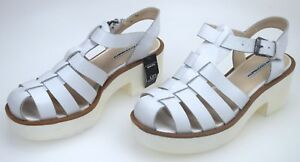 WINDSORSMITH-WOMAN-SANDALS-SHOES-WITH-WEGDE-CASUAL-FREE-TIME-LEATHER-LILY-DEFECT
