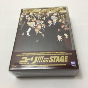 Yuri-sobre-hielo-Yuri-en-el-escenario-DVD-Japon-beneficios-primero-con-luz-Selphie-Sellado