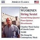 Charles Wuorinen - : String Sextet; Piano Quintet; Divertimento (2006)