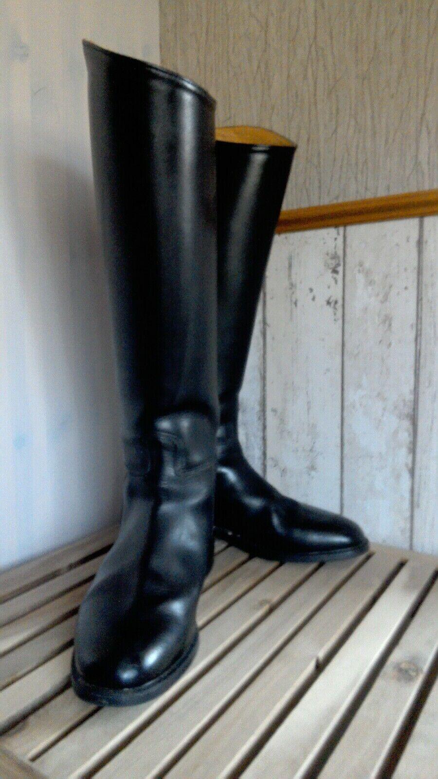 Reitstiefel Gr. 40 6,5   CAVALLO  schwarz  NEUwertig