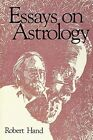 Essays on Astrology by Hand Robert 9780914918424