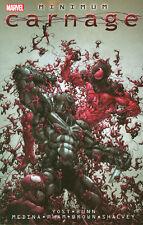 CARNAGE: MINIMUM CARNAGE TPB Chris Yost Marvel Comics Venom & Scarlet Spider TP