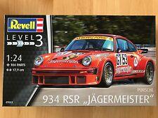 +++ Revell Porsche 934 RSR Jägermeister 1:24 07031