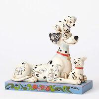 Disney Traditions Jim Shore 101 Dalmatians 55th Pongo, Penny & Rolly Figurine